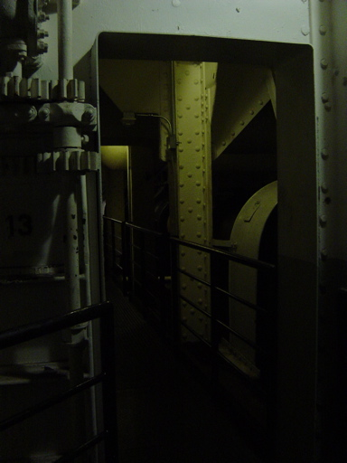 The Engine Room From Way Back: Haunted Places: Queen Mary